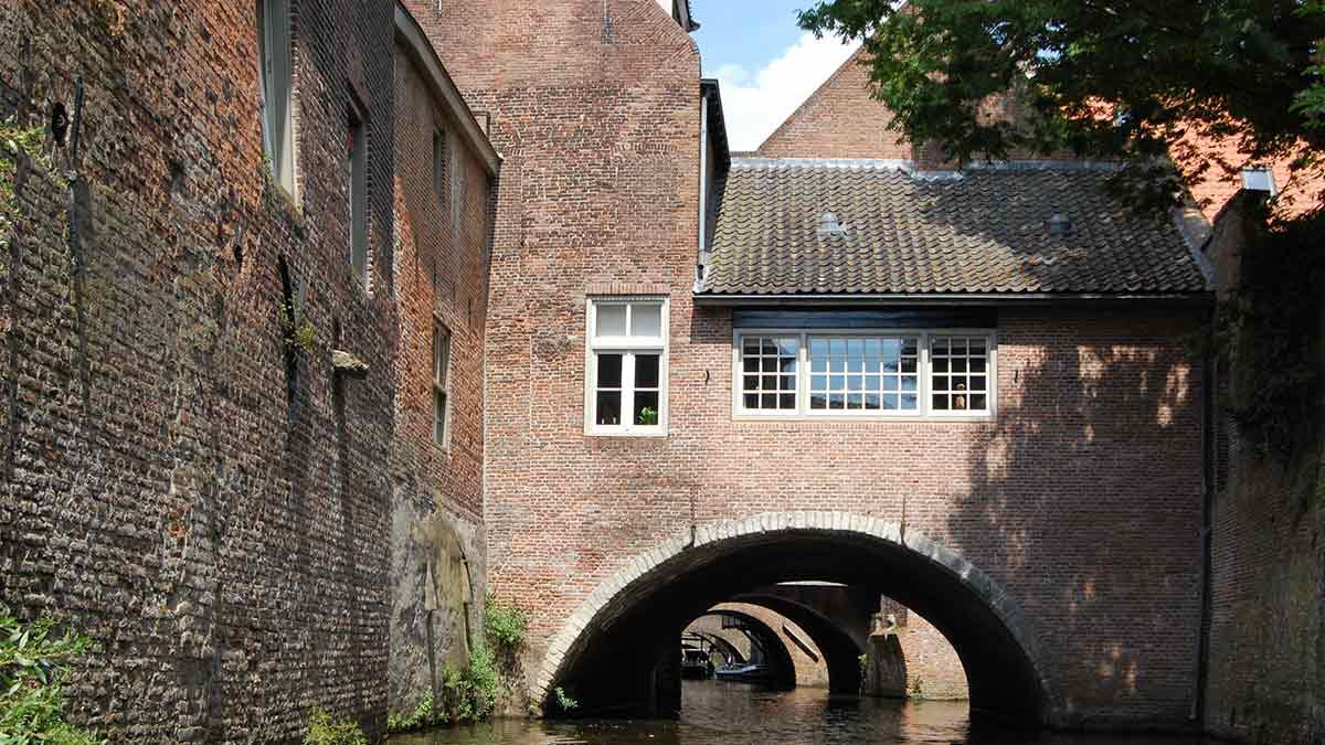 Canals in Den Bosch