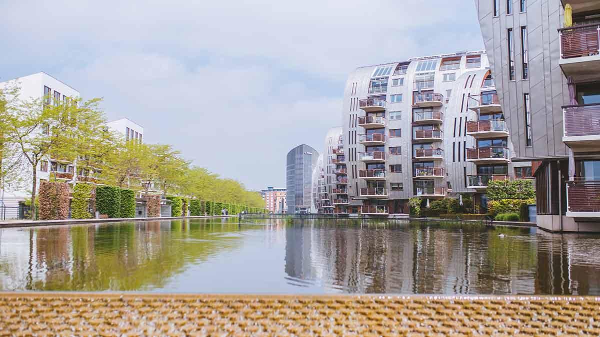 City Scape of Den Bosch