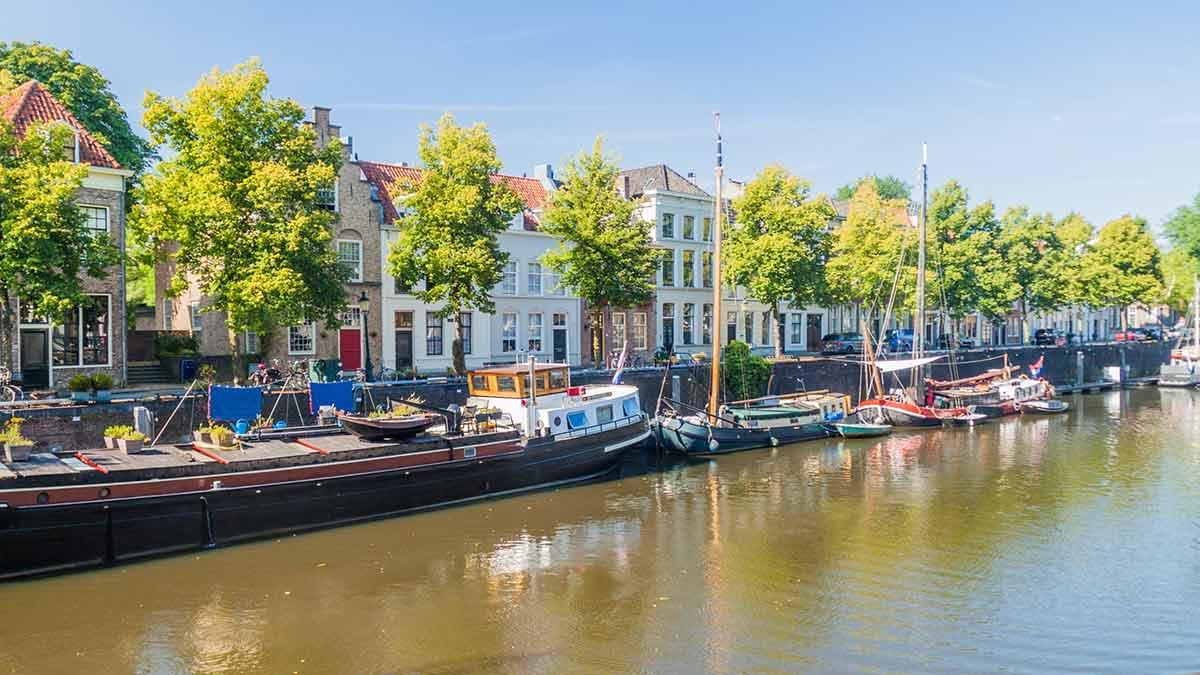 Old Harbour in Den Bosch