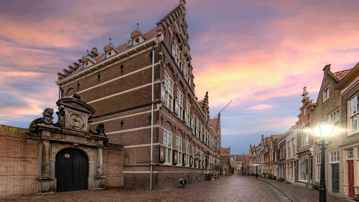 City of Dordrecht in the Netherlands