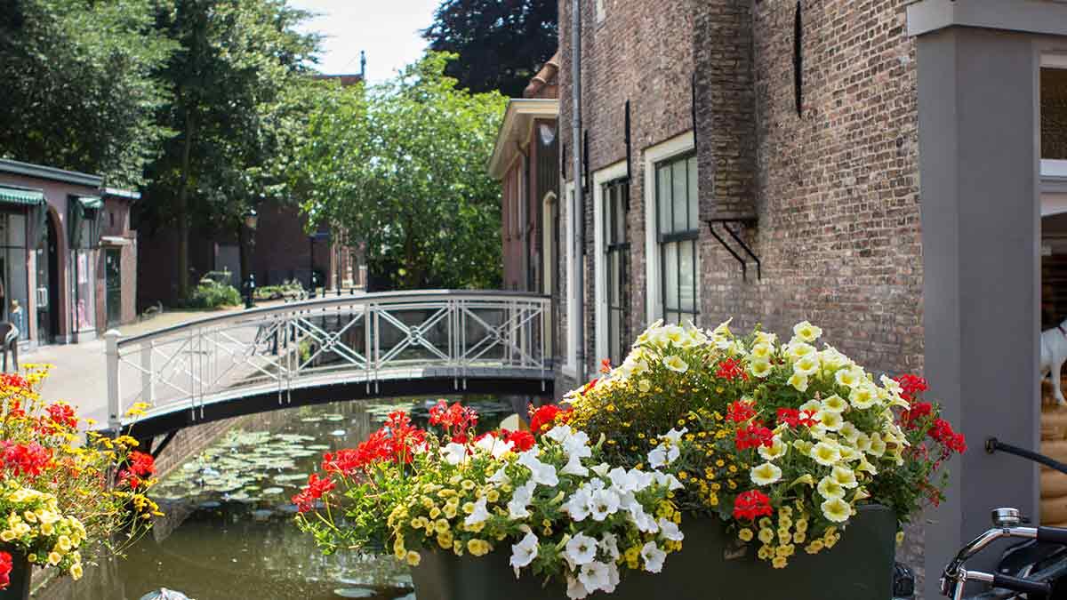 Canal Street in Gouda