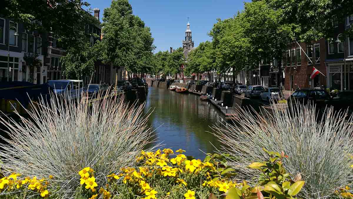 Old Town in Gouda