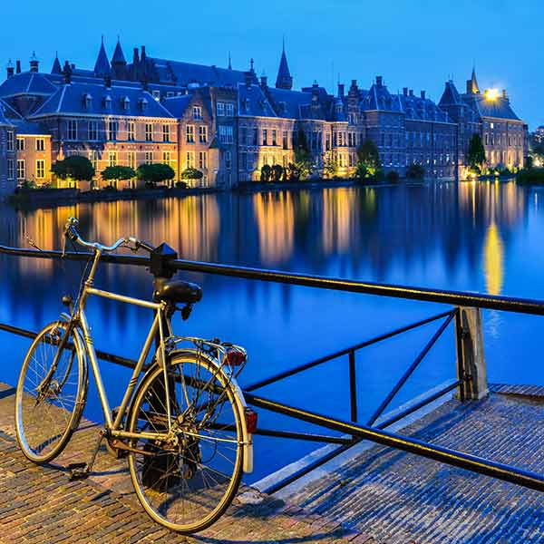 Explore The Hague on a bike