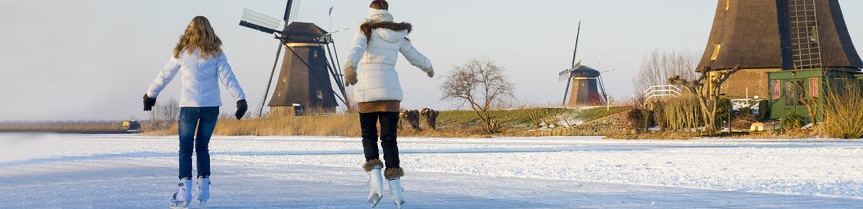 Winter activities in the Netherlands