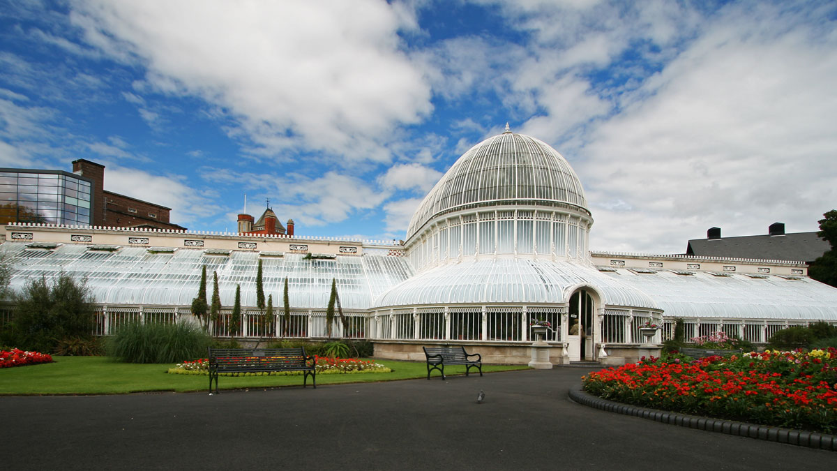 Botanic gardens in Belfast