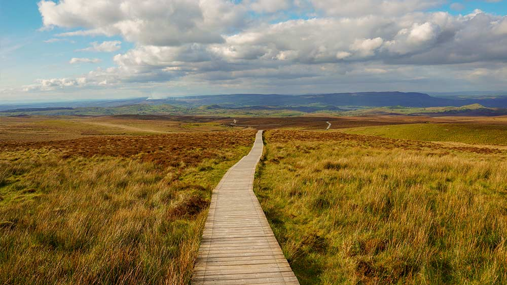 Cuilcagh Mountain Park in County Fermanagh