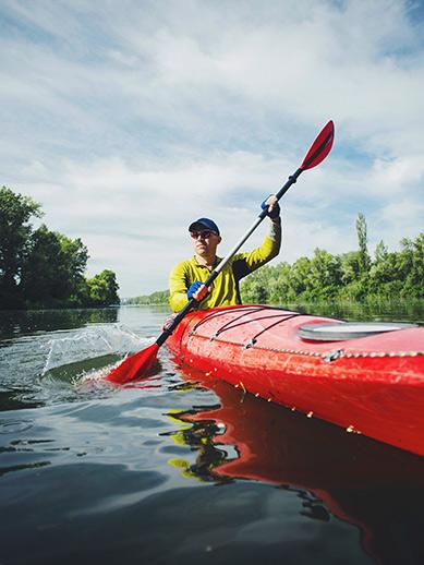 Kayaking in Ireland
