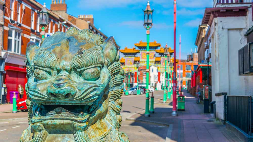 Plan your trip to Chinatown in Liverpool