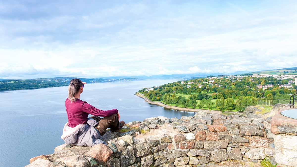 Views of Dumbarton, Scotland