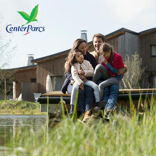Family at Center Parcs Europe