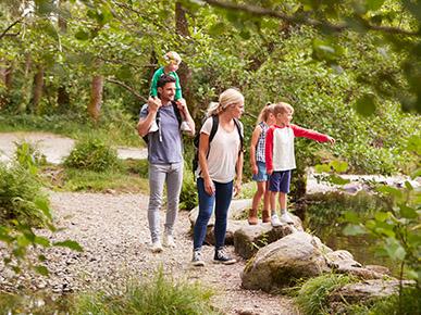 Vacances en famille dans le Lake District, Angleterre