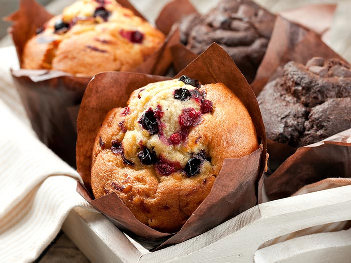 Muffins from our Starbucks on board