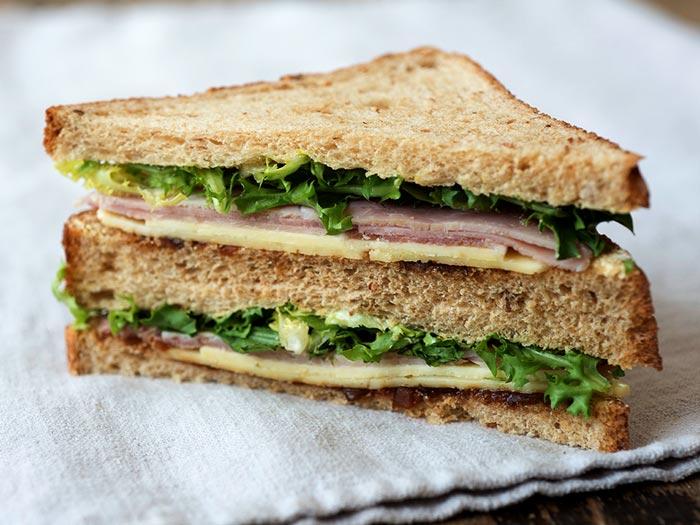 Sandwiches und Wraps zum Mitnehmen