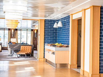 Dover to Calais Club Lounge P&O Ferries
