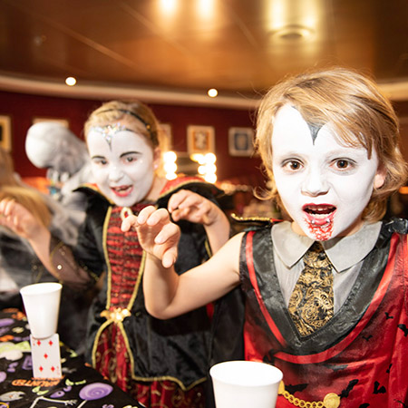 Hulloween Onboard Event P&O Ferries