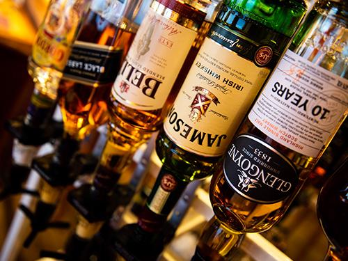 Edle Auswahl in unseren Bars