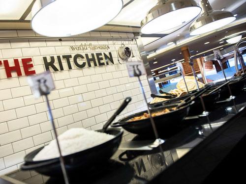 The Kitchen bietet auch Currygerichte an