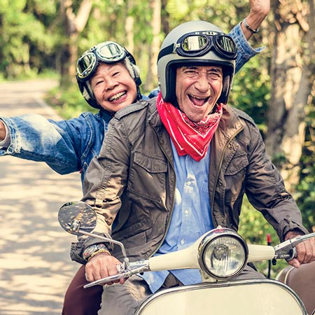 Travel by motorbike with P&O Ferries