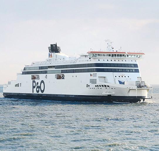 Reisen mit P&O Ferries
