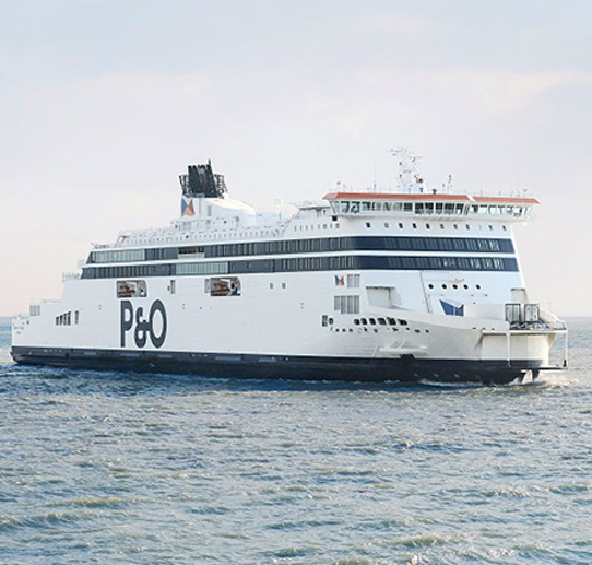 Travel planning with P&O Ferries