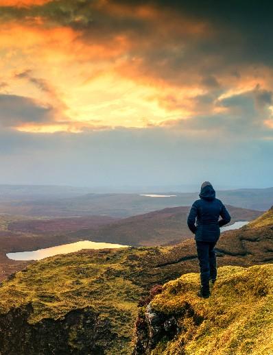 Hiking holiday in Scotland post-coronavirus