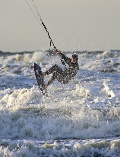 Kite surfing holiday in Holland post-coronavirus