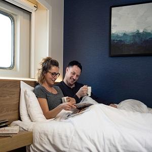 Wygodne kabiny - P&O Ferries