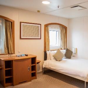 Komfortable Kabinen P&O Ferries