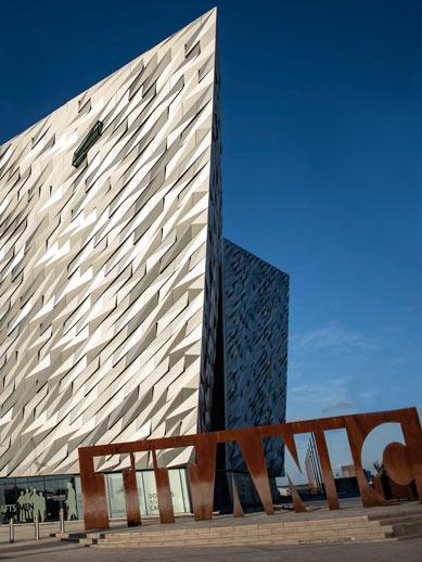 Cairnryan-Larne Titanic Museum Belfast